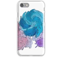 Truffula Tree Looking Watercolor iPhone Case/Skin