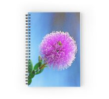 Bottle Brush Spiral Notebook