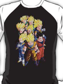 The Super Saiyans T-Shirt