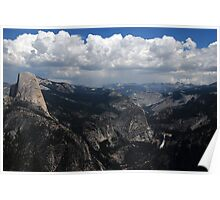 Mountains in Yosemite Poster