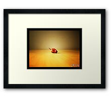 chilli Framed Print