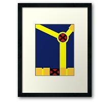 Cyclops 90s - Minimalist  Framed Print