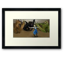 How to Train Your Drogon Framed Print