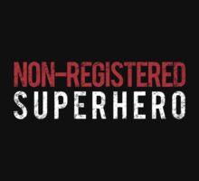 Civil War - Non-Registered Superhero - White Dirty by garudoh