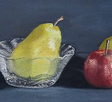 Apple and friends by JulieWickham