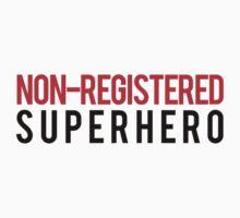 Civil War - Non-Registered Superhero - Black Clean by garudoh