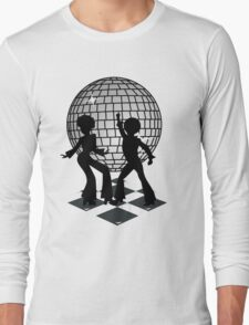 Retro Music DJ! Feel The Oldies! - Art Prints, T Shirts and Stickers Long Sleeve T-Shirt