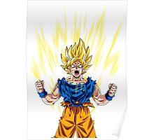 Son Goku Super Saiyan Poster