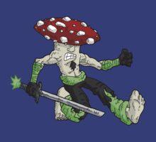 samurai fungi: clan agaric... by kangarookid