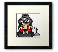 Reckless drifter Framed Print