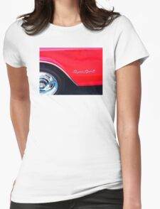 Super Sport - Chevy Impala Classic Car Womens Fitted T-Shirt