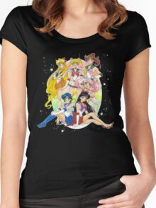 Sailor Moon Super S Women's Fitted Scoop T-Shirt