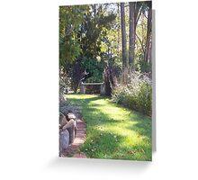 Garden Seat Greeting Card