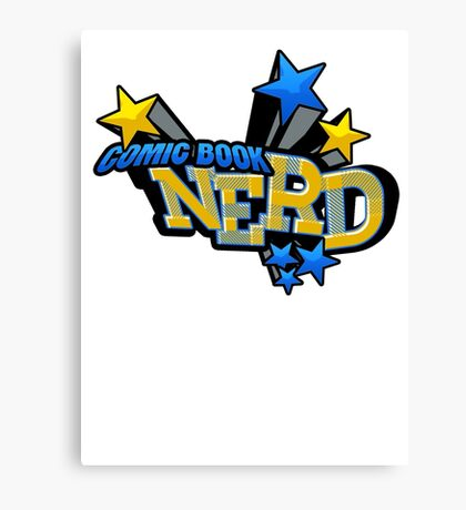 Comic Book Nerd Canvas Print