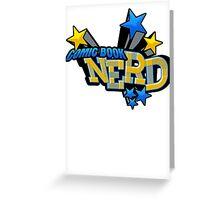 Comic Book Nerd Greeting Card