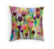 Tryst -  Cropped Detail Throw Pillow