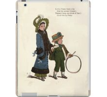 Under the Window Pictures and Rhymes for Children Edmund Evans and Kate Greenaway 1878 0024 Hoop iPad Case/Skin
