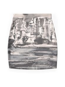 RAINY CITY(C2010) Mini Skirt