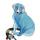 blue dog by soogie