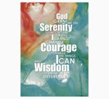 Serenity Prayer 1 - By Sharon Cummings Kids Tee