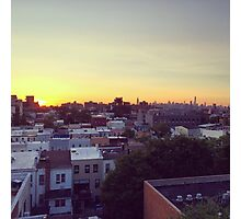 Brooklyn -NYC Sunset Photographic Print