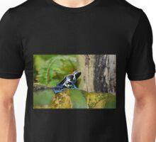 Blue Dart Tree Frog Unisex T-Shirt