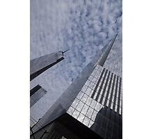Fascinated with Manhattan - Sky, Glass and Skyscrapers Photographic Print