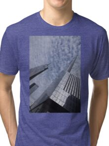 Fascinated with Manhattan - Sky, Glass and Skyscrapers Tri-blend T-Shirt