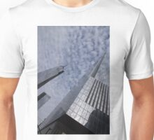 Fascinated with Manhattan - Sky, Glass and Skyscrapers Unisex T-Shirt