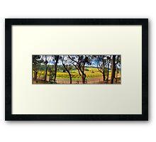 Tuck's Corner, Red Hill Framed Print