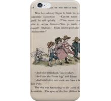 The Queen of Pirate Isle Bret Harte, Edmund Evans, Kate Greenaway 1886 0032 On the Hill iPhone Case/Skin