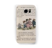 The Queen of Pirate Isle Bret Harte, Edmund Evans, Kate Greenaway 1886 0032 On the Hill Samsung Galaxy Case/Skin