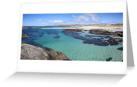 Sanna Bay on the Ardnamurchan Peninsula. by John Cameron