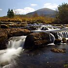 Waterfalls at Cwmnantcol, North Wales by John Williams