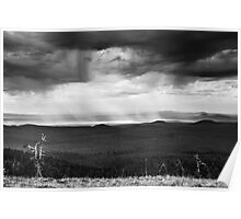 STORM IN MONOCHROME Poster
