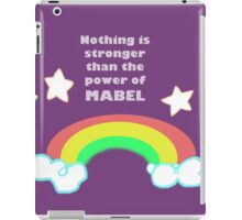 The Power of Mabel iPad Case/Skin