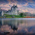 Kilchurn Castle , Loch Awe, Argyll by David Mould