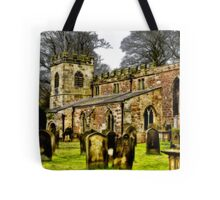 St Peters Church - Croft-on-Tees . Tote Bag