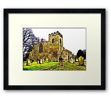 St Peters Church - Croft-on-Tees .#2 Framed Print