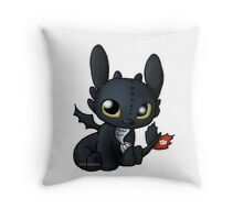 Chibi Toothless Throw Pillow