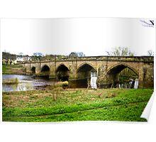 Croft-on-Tees Bridge. Poster