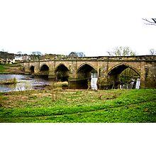 Croft-on-Tees Bridge. Photographic Print