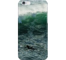 Emerald California Surfing - La Jolla, San Diego, California iPhone Case/Skin
