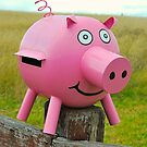 Pink Piggy # 11 by Penny Smith