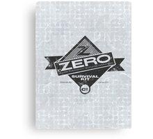 ZERO Hero Canvas Print
