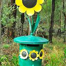 Sunflower Mailbox by Penny Smith