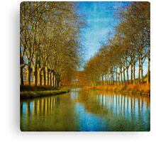 canal avenue Canvas Print
