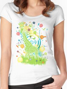 Sky_High Women's Fitted Scoop T-Shirt