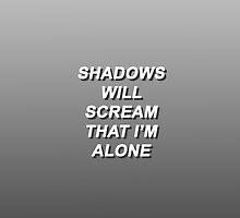 Twenty One Pilots Migraine Lyrics 2 by impalecki