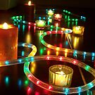 candles and lights by lins